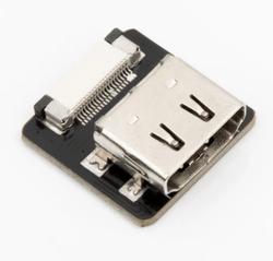 Odseven DIY HDMI Cable Parts - Straight HDMI Socket Adapter - Thumbnail