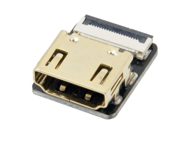 Odseven DIY HDMI Cable Parts - Straight HDMI Socket Adapter