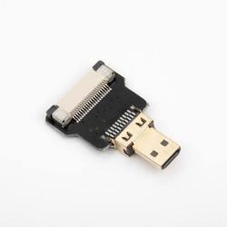 Odseven DIY HDMI Cable Parts - Straight Micro HDMI Plug Adapter - Thumbnail