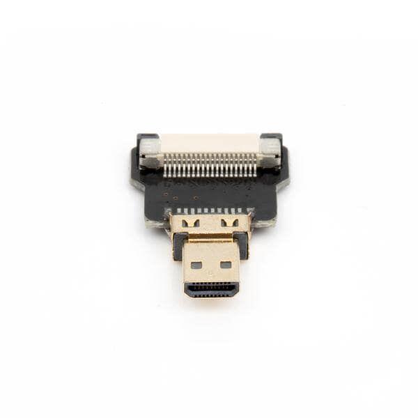 Odseven DIY HDMI Cable Parts - Straight Micro HDMI Plug Adapter