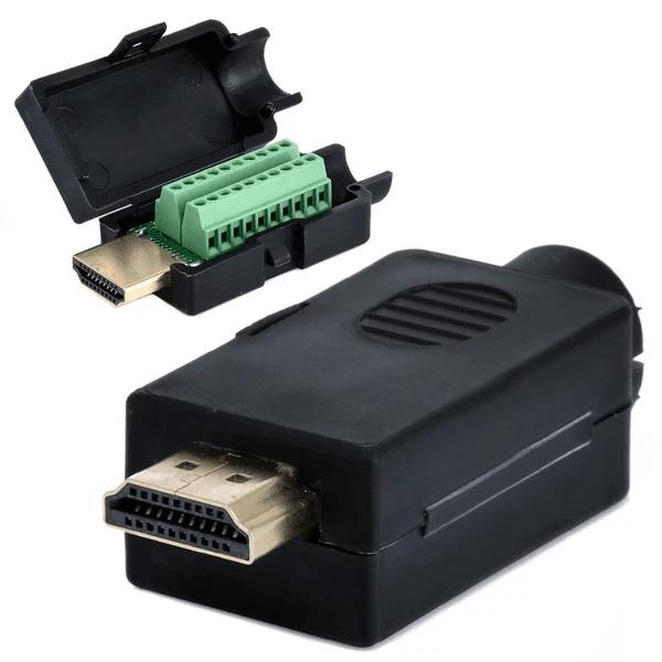 Odseven HDMI Plug to Terminal Block Breakout