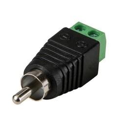 Odseven RCA (Composite Video, Audio) Male Plug Terminal Block - Thumbnail