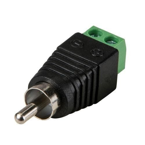 Odseven RCA (Composite Video, Audio) Male Plug Terminal Block