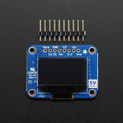 "Adafruit - OLED Monochrome 0.96"" 128x64 OLED graphic display"