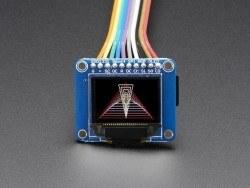 OLED Renkli 0.96 Inch Ekran Modülü SD Kartlı - OLED Breakout Board - 16-bit Color 0.96 Inch w/microSD holder - Thumbnail