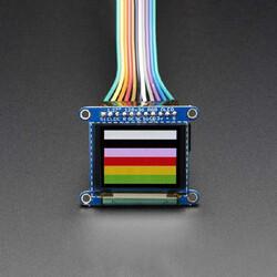 Adafruit - OLED Renkli 1.27 Inch Ekran Modülü (SD Kartlı)