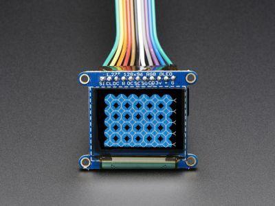 OLED Renkli 1.27 Inch Ekran Modülü (SD Kartlı)