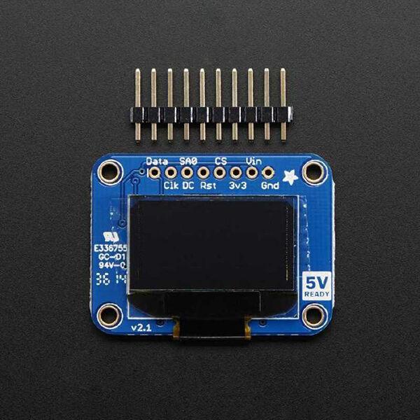 OLED Siyah-Beyaz 0.96 Inch 128x64 Piksel Ekran Modülü