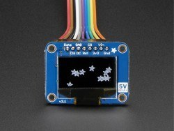 OLED Siyah-Beyaz 0.96 Inch 128x64 Piksel Ekran Modülü - Thumbnail