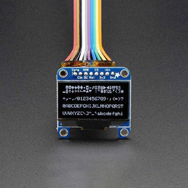 OLED Siyah-Beyaz 1.3 Inch Ekran Modülü