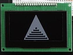Oled Siyah-Beyaz 2.7 Inch 128x64 Grafik Ekran - Thumbnail