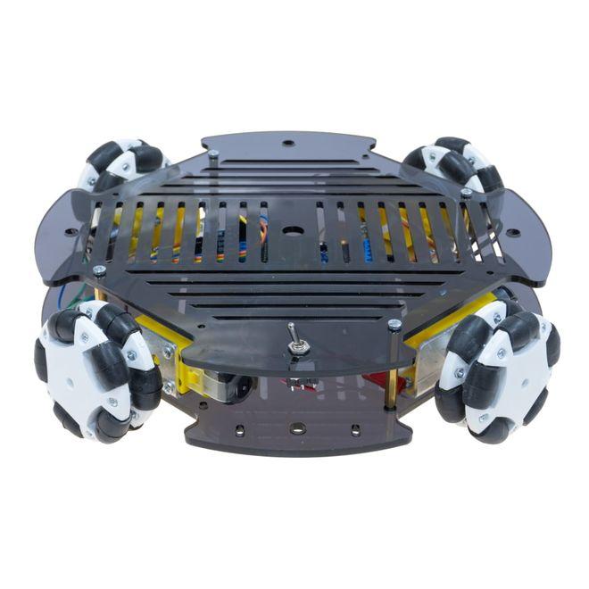 Cruise Omni Tekerlekli Robot Platformu (Elektronikli)