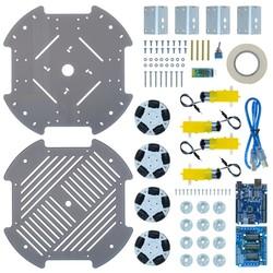 Cruise Omni Tekerlekli Robot Platformu (Elektronikli) - Thumbnail