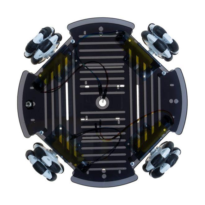 Cruise Omni Tekerlekli Robot Platformu (Elektroniksiz)