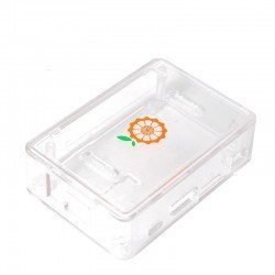 Orange Pi One Transparent Protective Case - Thumbnail