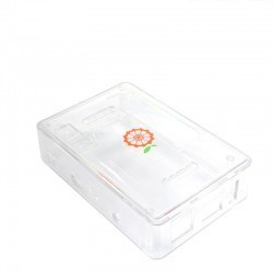 Orange Pi PC Plus Transparent Protective Case - Thumbnail