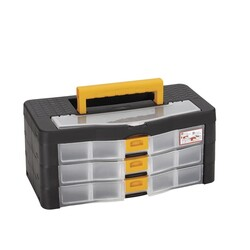 Asrın Plastik - Organizer 3-Layer Material Box with Drawers
