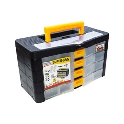 Asrın Plastik - Organizer 4-Layer Material Box with Drawers
