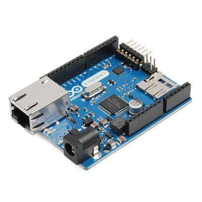 Orjinal Arduino Ethernet w/o PoE R3 - Arduino Ethernet PoE′siz (Yeni Versiyon)