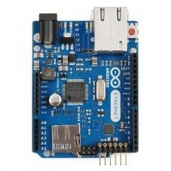 Orjinal Arduino Ethernet w/o PoE R3 - Arduino Ethernet PoE′siz (Yeni Versiyon) - Thumbnail