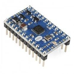Arduino - Headerlerı Lehimli Arduino Mini 05
