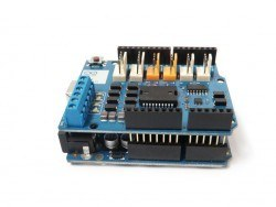 Orijinal Arduino Motor Shield Rev3 - Thumbnail