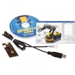 Robotic ARM Edge OWI-535 USB Interface - YouTube