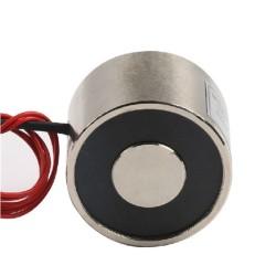 P20/15 Elektro Mıknatıs - 2.5 kg Tutma Gücü - Thumbnail