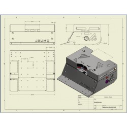 Pars Sumo Robot Kit (Mechanical Set) (Disassemble) - Thumbnail