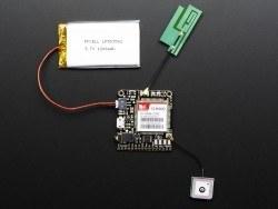 Pasif GPS Anten - uFL - 15x15 mm 1 dBi Kazanç - Thumbnail