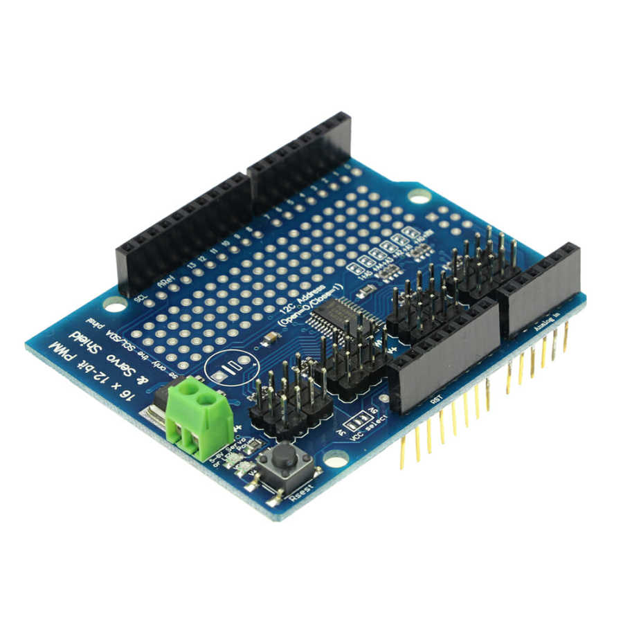 Buy PCA9685 16 Channel I2C PWM/Servo Driver Shield with cheap price