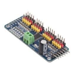 Robotistan - PCA9685 16 Kanal I2C PWM/Servo Sürücü Kartı (Klon)