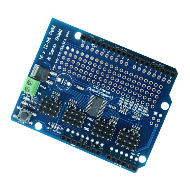 PCA9685 16 Kanal I2C PWM/Servo Sürücü Shield