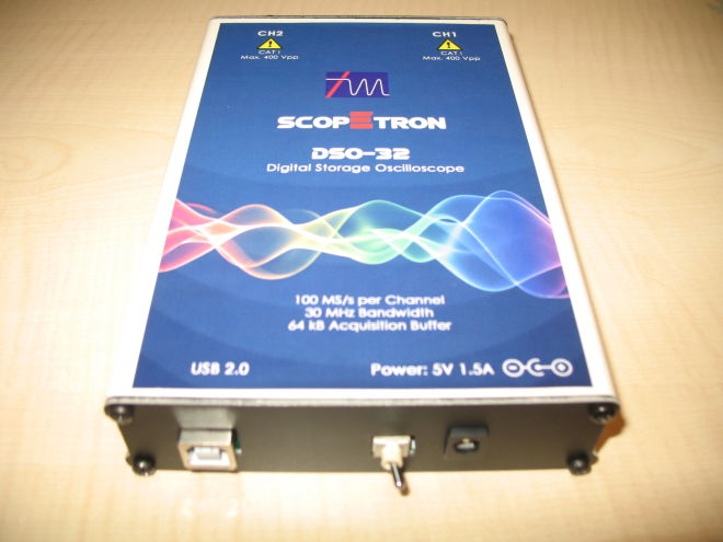 PDO-100 Pc Based Oscilloscope