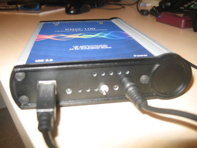 PDO-100 Pc Tabanlı Osiloskop-Pil Tabanlı