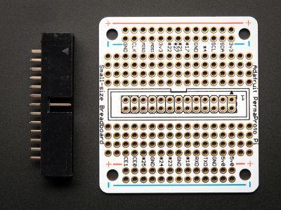 PermaProto Raspberry Pi Uyumlu Delikli Pertinaks (Küçük Boy)