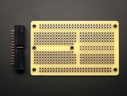 PermaProto Raspberry Pi Uyumlu Delikli Pertinaks (Yarım Boy) - Thumbnail