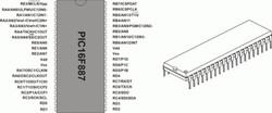PIC 16F887 - DIP40 - Thumbnail