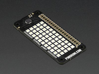 Pimoroni Raspberry Pi Zero 11x5 Led Matris Shield