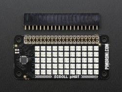 Pimoroni Raspberry Pi Zero 11x5 Led Matris Shield - Thumbnail