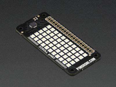 Pimoroni Raspberry Zero 11x5 Led Matris Shield