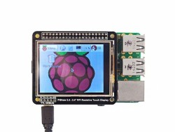 PiShow 2.4Inch Resistive Touch Display - Thumbnail