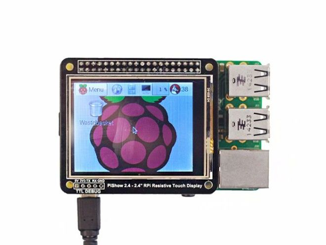 PiShow 2.4Inch Resistive Touch Display