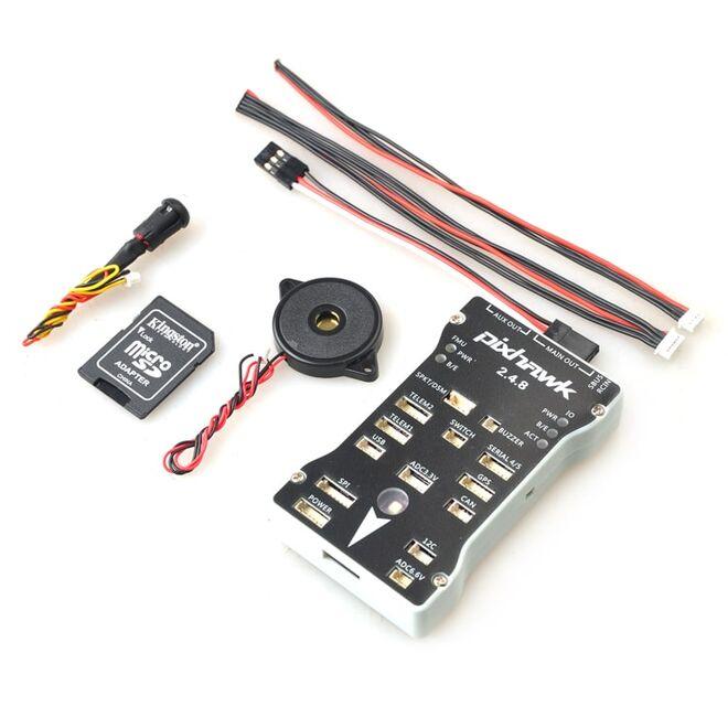 Pixhawk PX4 v2.4.8 32 Bit Flight Controller + Safety Switch + Buzzer