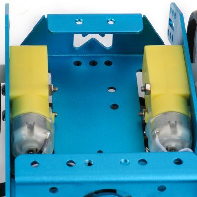 Plastik Redüktörlü Motor - DC 6 V / 200 RPM - 81320