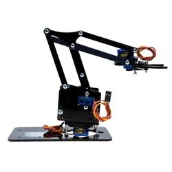 Pleksi Robot Kol - Arduino Uyumlu - Thumbnail