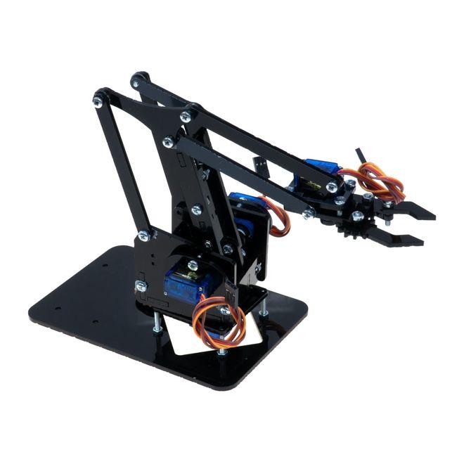Pleksi Robot Kol - Arduino Uyumlu