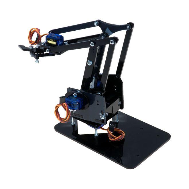Plexiglas Robotic Arm - Arduino Compatible