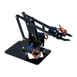 Robotistan - Plexiglas Robotic Arm - Arduino Compatible