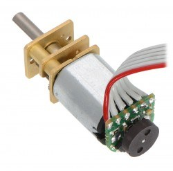 Pololu 100:1 Micro Metal Gearmotor HPCB 12V with Extended Motor Shaft - Thumbnail